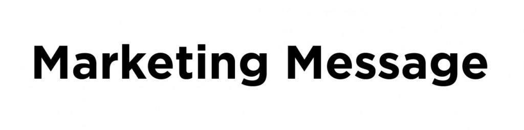 marketing message gotham
